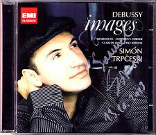 Simon TRPCESKI Signed DEBUSSY Images Children's Corner Arabesques Clair de Lune