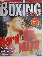 Boxing News 22 Aug 1997 Seamus Casey Dominic Negus Trinidad Collins Frank Warren