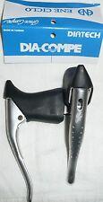 Dia Compe Gran Sport GC07H road bike drop bar aero brake levers with BLACK Hoods