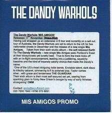 (983C) The Dandy Warhols, Mis Amigos - DJ CD