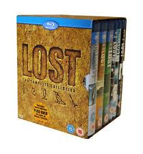LOST - SEASONS 1-6 - BLU-RAY - REGION B UK