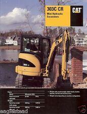 Equipment Brochure - Caterpillar - 303C CR - Mini Excavator - 2007 (EB189)