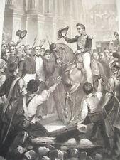 EPOQUE LOUIS PHILIPPE / Louis Philippe à l'Hotel de Ville en 1830