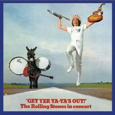 ROLLING STONES IN CONCERT GET YER YA-YA'S OUT ORIGINAL 1987 CD  AS NEW LONDON