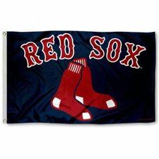 BOSTON RED SOX FLAG 3'X5' MLB BANNER: FAST FREE SHIPPING