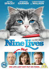 NINE LIVES KEVIN SPACEY JENNIFER GARNER CHRIS WALKEN LIONSGATE UK 2016 DVD NEW
