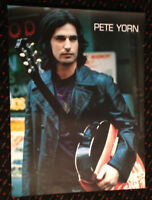 PETE YORN Day I Forgot 18x24 orig record store promo poster 2sided Columbia 2003