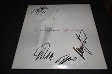 """APOCALYPTICA signed Autogramme auf """"SHADOWMAKER"""" Vinyl Platte LP InPerson RAR"""