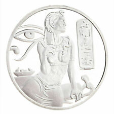 Kleopatra - Ultra High Relief - Münze poliert mit Kapsel Silber Ägypten