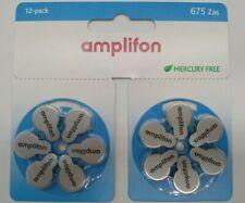 Pile Amplifon per apparecchi acustici modello 675 Zas Amplifon