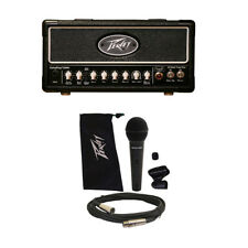 Peavey ValveKing 20 MH Micro Head Electric Guitar Amplifier Tube Amp Head & Mic