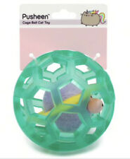 Pusheen Orbit Cage Ball Cat Toy, New