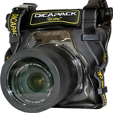 Nikon D5100 D5200 D5300 D-SLR Kamera Unterwasser Gehäuse wasserdicht Tasche I