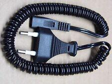 cordon torsadé universel 1.5m 150cm pour rasoir électrique