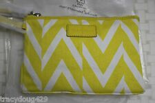 NWT Cole Haan Zip Pouch Chickadee/Natural Westerly Canvas II