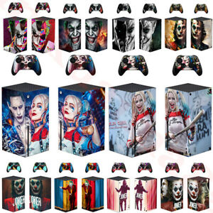 The Joker Vinyl Skin Decal Sticker For Xbox Series X Console And Two Controller