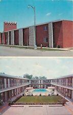 Harper Woods Michigan~Parkerest Motel~Hi-Fi 1950s Postcard