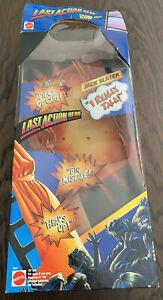 """Last Action Hero 15"""" Talking Jack Slater Arnold Schwarzenegger 1993 🔥Box Only💥"""