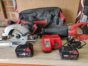 Milwaukee m18 power tool set