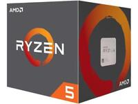 AMD RYZEN 5 2600 6-Core 3.4 GHz (3.9 GHz Max Boost) Socket AM4 Desktop Processor