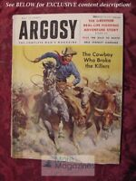 ARGOSY May 1955 FRED GIPSON ROALD AMUNDSEN ROBERT SCOTT