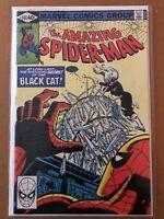Amazing Spider-Man 205 --(NM condition)-- Black Cat app. Marvel Comics