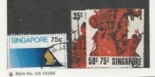 Singapore, Postage Stamp, #177, 180-182 Used, 1973