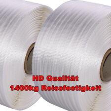2 x HD Textilband 25mm gewebt* ca.1400kg Reissfestigkeit * auch zum Holz bündeln