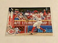 2020 Topps Baseball UK Edition Base Card - Luis Castillo - Cincinnati Reds