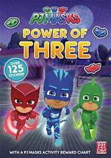 PJ Masque: Power of Three: A PJ Masque Livre D'AUTOCOLLANTS PAR Pat-a-Cake