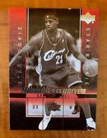 LeBron James 2003-04 Upper Deck Rookie Exclusives Variation SSP Rare RC **READ**