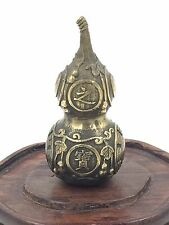 Chinese Decorative Gourd Figure (bronze)
