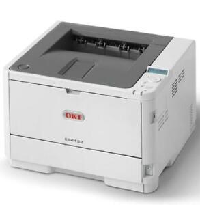 Oki ES4132DN Black & White Laser Printer Home Office Fast Print LED A4 - A6
