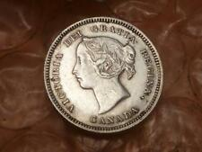 1890 H Canada 5 Cents Extra Fine Lower Mintage #1A