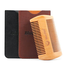 Travel Use Small Beard Double Sided Double Gift Set Wooden Comb Women Necessary
