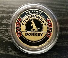 Poker Card Guard - No Limit Tournament Donkey - High Quality Premier Edition!!!!