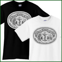 ANCHOR STEAM Beer T-Shirt Brewery Ale Promo Black White TShirt Tee Size S-2XL
