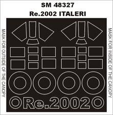 Montex Mini Mask 1:48 Reggiane Re-2002 for Italeri Spraying tencil #SM48327