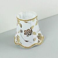 Wall Lamp Fabric Cover Modern Home Table Lampshades Floral Lovely Lighting Shade