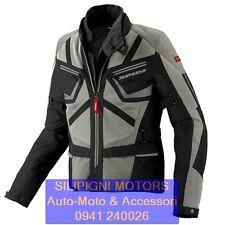 Giacca Moto Spidi Ventamax traforata e Impermeabile removibile Sand Non applicabile M
