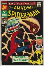Amazing Spider-Man Annual #4 F-VF 7.0 Human Torch The Wizard Mysterio!
