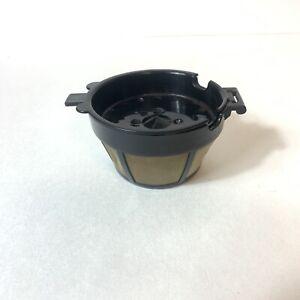 Coffee Pod Filter Basket Cuisinart Gold Screen 2 Cup CM4280 Reusable Refillable