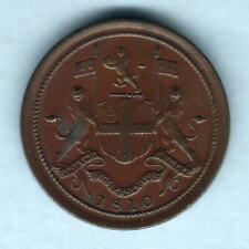 Penang - East India Co. 1810 Half Cent..  aEF
