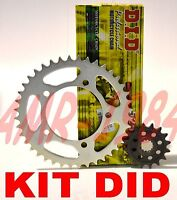 DID KIT CATENA CORONA PIGNONE KTM DUKE 125 2011-2013 KTM DID KIT TRASMISSIONE