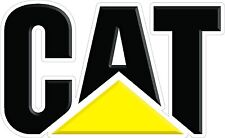 CAT Caterpillar Decal Pair - Semi, Trailer, Truck, Window  High Quality!!