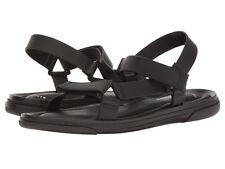 Kenneth Cole New York Men's Buckle-N US 13 M Black Synthetic Sandals Shoes $150