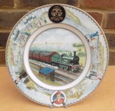 COALPORT Seaside Specials Cabinet Plate - North Eastern Railway