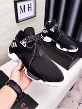 5a0c14e33864 NEW Y3 Black Yohji Yamamoto Light Weight Lace Up Men s Qasa High Trainers  Shoes