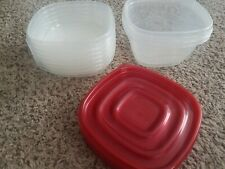 Rubbermaid takealongs Food Storage Sqaure 8 Containers