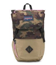 Jansport Backpack Pike Surplus Camo Skate School Travel Bag